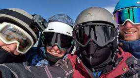 Selfie at 12,000 feet.
